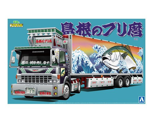 Aoshima 52860 Japanese Decoration Truck Shimane no Burimaro 1/32 scale kit