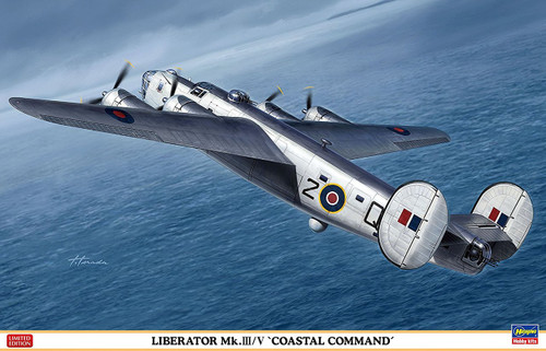 "Hasegawa 02241 Liberator Mk.III/V ""Coastal Command"" 1/72 scale kit"