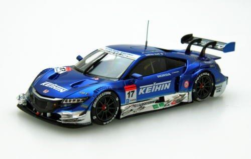 Ebbro 45273 KEIHIN NSX CONCEPT-GT SUPER GT500 2015 Rd.1 Okayama No.17 Blue 1/43 scale