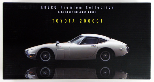 Ebbro 24030 TOYOTA 2000GT (White) 1/24 Scale