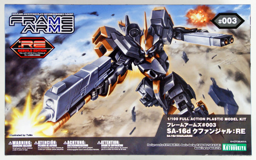 Kotobukiya Frame Arms FA078 SA-16d Khanjar:RE 1/100 Scale Kit