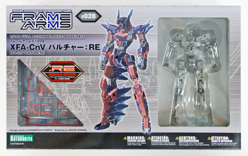 Kotobukiya Frame Arms FA081 XFA-CnV Vulture:RE 1/100 Scale Kit