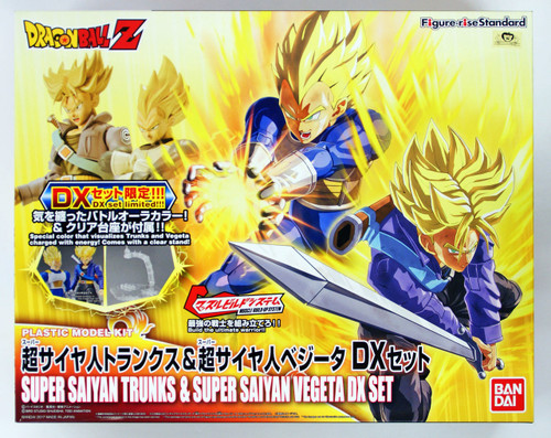 Bandai Figure-Rise Standard 196105 SUPER SAIYAN TRUNKS & VEGETA DX Set Plastic Model Kit