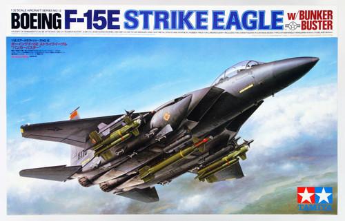 "Tamiya 60312 Boeing F-15E Strike Eagle ""Bunker Buster"" 1/32 scale kit"