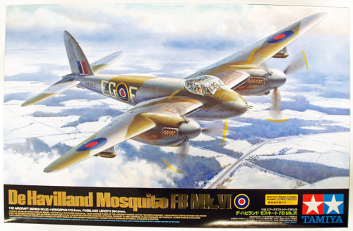 Tamiya 60326 De Havilland Mosquito FB Mk.VI 1/32 scale kit