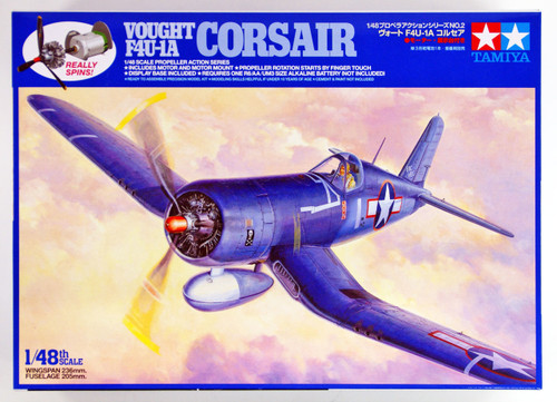 Tamiya 61502 Vought F4U-1A Corsair Propeller Action 1/48 scale kit