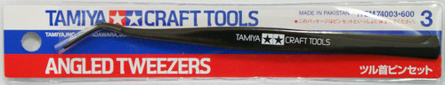 Tamiya 74003 Craft Tools - Angled Tweezers