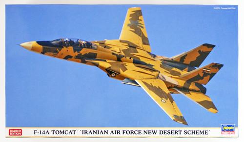 "Hasegawa 02242 F-14A Tomcat ""Iranian Air Froce New Desert Scheme"" 1/72 scale kit"