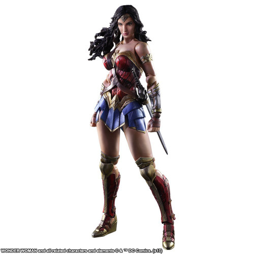 Square Enix Play Arts Kai Wonder Woman Action Figure