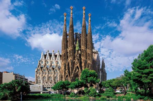 Epoch Jigsaw Puzzle 10-791 Sagrada Familia Antoni Gaudi (1000 Pieces)