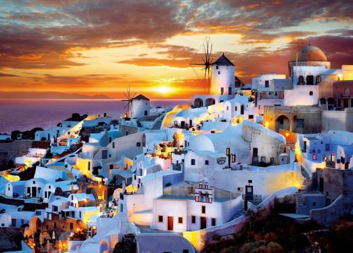 Epoch Jigsaw Puzzle 05-108 Evening View Santorini Greek (500 Pieces)