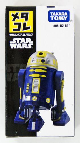 Takara Tomy Disney Star Wars Metal Figure #05 R2-B1 (4904810896531)
