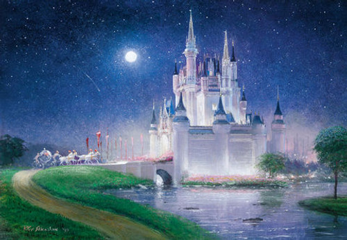 Tenyo Japan Jigsaw Puzzle D-1000-264 Disney Cinderella (1000 Pieces)