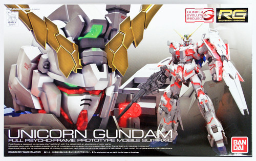 Bandai RG 25 Gundam Unicorn Gundam 1/144 Scale Kit