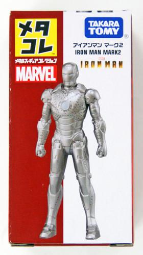 Takara Tomy Marvel Metakore Metal Figure Ironman Mark 2 894513