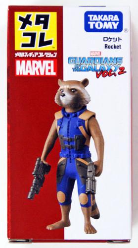Takara Tomy Marvel Metakore Metal Figure Rocket 889373
