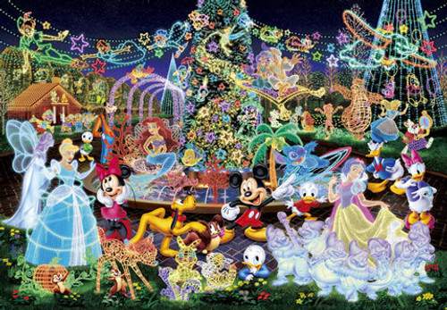 Tenyo Japan Jigsaw Puzzle D-1000-329 Disney All Characters (1000 Pieces)