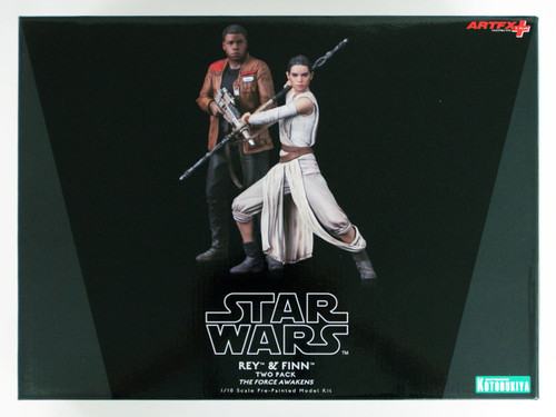 Kotobukiya SW121 ARTFX+ STAR WARS Rey & Finn Set of 2 1/10 scale Figure