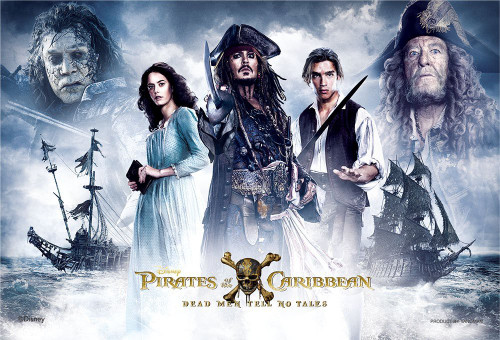 Yanoman Jigsaw Puzzle 99-419 Pirates of the Caribbean Dead Men Tell No Tales (99 Small Pieces)