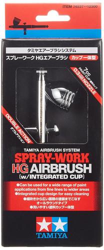 Tamiya 74537 Spray-Work HG Airbrush w/Integrated Cup