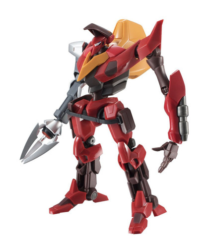 Bandai 192077 Robot Tamashii Code Geass Guren Type-02 (Kouichi Model Arm Equipped) Figure