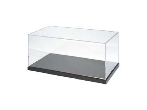 Wave Materials OP166 Plastic Clear Case for Display Models T-Case (L)