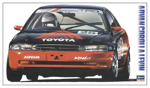 Hasegawa 20314 Advan Corolla Levin 1/24 scale kit