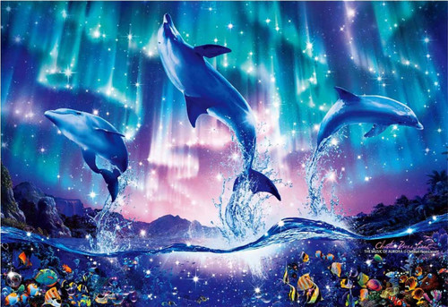 Epoch Jigsaw Puzzle 28-311 Lassen Music of Aurora (300 Pieces)