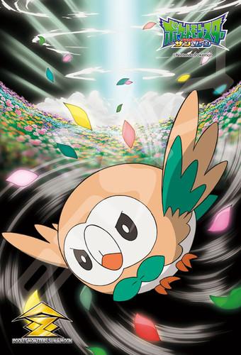 Ensky Jigsaw Puzzle 150-576 Pokemon Sun & Moon Bloom Doom Rowlet Mokuroh (150 S-Pieces)