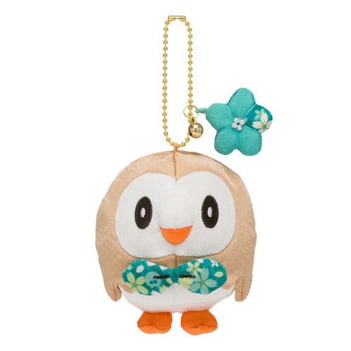 Pokemon Center Original Chirimen Rowlet (Mokuroh) Mascot 729-221786