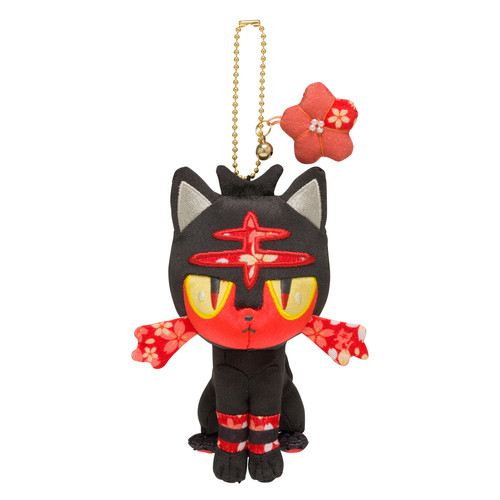 Pokemon Center Original Chirimen Litten (Nyabby) Mascot 729-221809