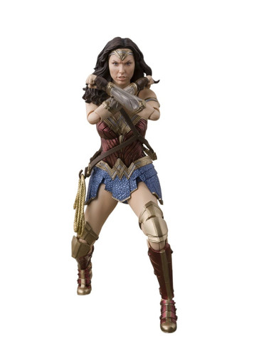 Bandai 197812 S.H. Figuarts Wonder Woman (Justice League) Action Figure