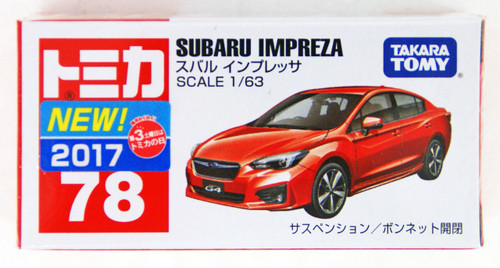 Takara Tomy Tomica 78 Subaru IMPREZA 879572