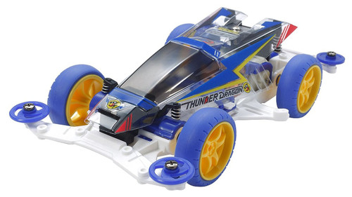 Tamiya 95336 Mini 4WD Thunder Dragon Clear Special (Polycarbonate Body) 1/32