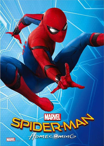Tenyo Japan Jigsaw Puzzle R-108-616 Spider-Man Homecoming (108 Pieces)