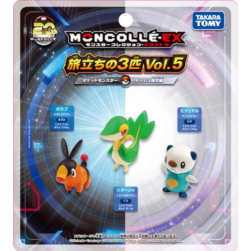Takara Tomy Pokemon Moncolle Monster Collection Departure Set Vol.5 (Unova Region) 967880