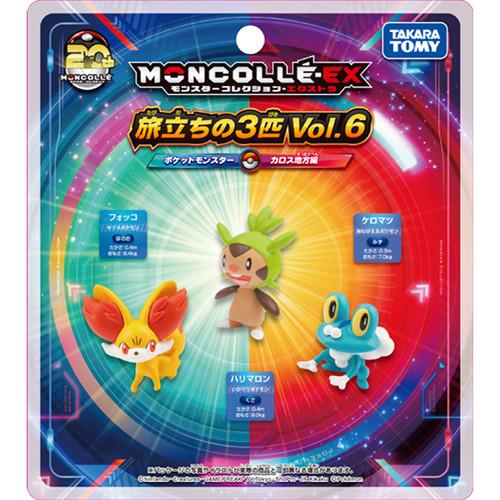 Takara Tomy Pokemon Moncolle Monster Collection Departure Set Vol.6 (Kalos Region) 967897