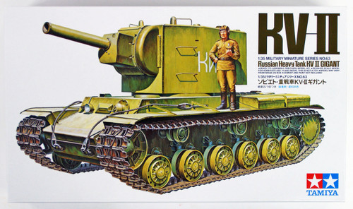 Tamiya 35063 Russian Heavy Tank KV-II Gigant 1/35 scale kit