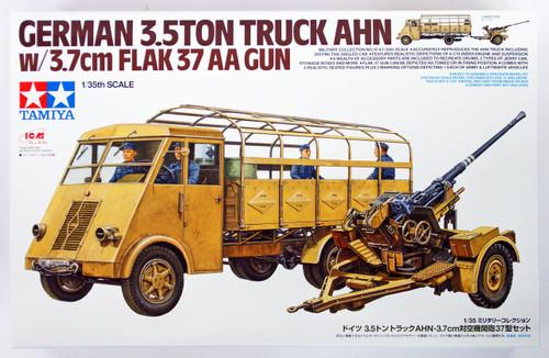 Tamiya 32410 German 3.5ton Truck AHN w/3.7cm Flak 37 AA Gun 1/35 scale kit
