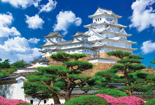 Beverly Jigsaw Puzzle S62-519 World Heritage Himeji Castle Japan (2000 S-Pieces)