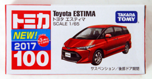 Takara Tomy Tomica 100 TOYOTA Estima 879657