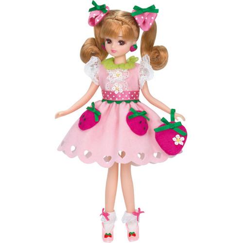 Takara Tomy Licca Doll LD-08 Milky Strawberry (896272)