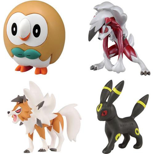 Takara Tomy Pokemon Moncolle Monster Collection Ash VS Gladion Battle Set 976110