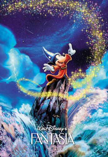 Tenyo Japan Jigsaw Puzzle D-108-728 Disney Fantasia (108 Pieces)