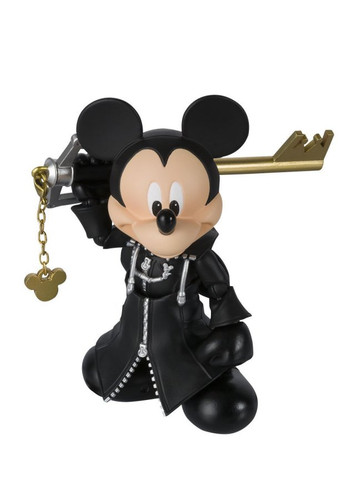 Bandai 191971 S.H. Figuarts King Mickey Action Figure (Kingdom Hearts II)