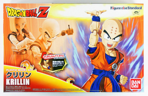 Bandai Figure-Rise Standard Dragon Ball KRILLIN Plastic Model Kit 197614