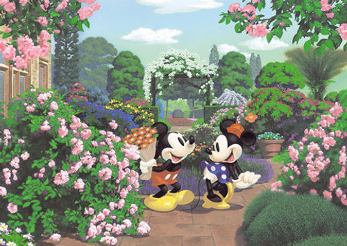 Tenyo Japan Jigsaw Puzzle D-300-170 Disney Mickey Mouse (300 Pieces)