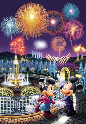 Tenyo Japan Jigsaw Puzzle D-300-221 Disney Mickey Mouse (300 Pieces)