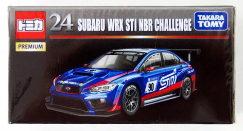 Takara Tomy Tomica Premium 24 SUBARU WRX STI NBR CHALLENGE (4904810887164)