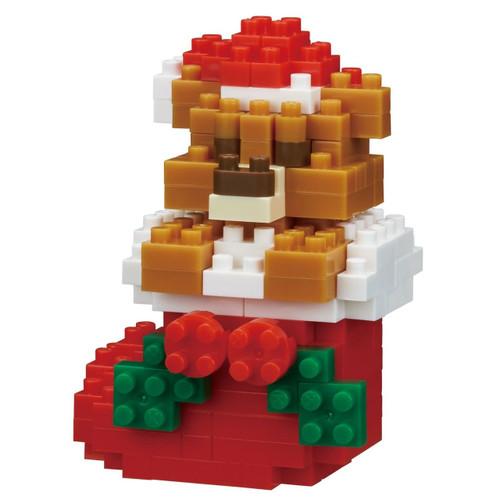 Kawada NBC-235 nanoblock Christmas Teddy Bear